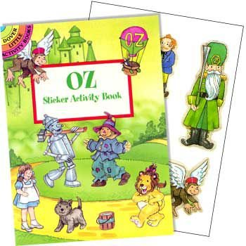 Dover BB002424 Wizard Of Oz Sticker Book