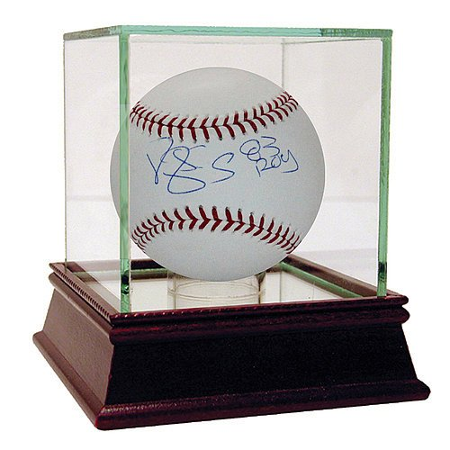 Darryl Strawberry Signed Major League Baseball withROY Inscription - Certified Authentic Autograph by Sports...