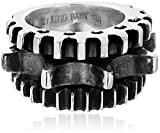 "King Baby ""Industrial Romance"" Men's Triple Gear Ring Picture"