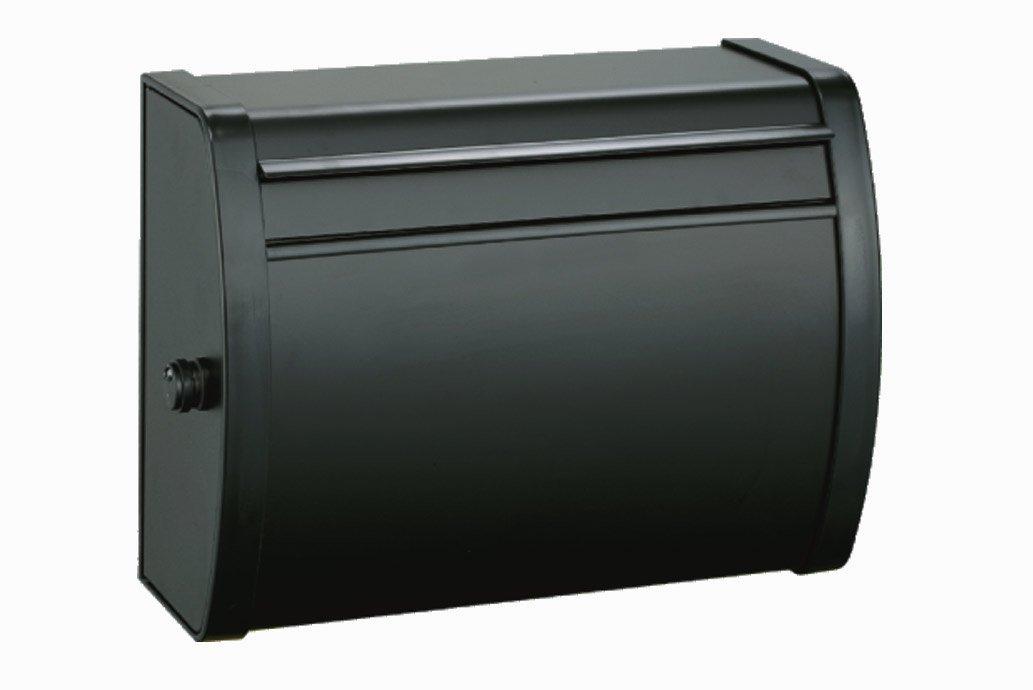 メイワ MK-82 ダイヤル錠付 大型 ポスト ブラック B00ESAHWFY 11833