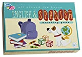 C.R. Gibson Gibby & Libby All Around The House English/Spanish Memory Matching Game by