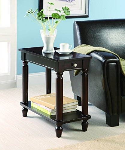 Coaster 900972 Chairside Table Cappuccino