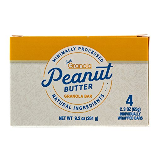 Just Granola Peanut Butter Bars (Pack of 8) - Gourmet, Natural Ingredients, Raw Honey, Prebiotics - Quick Low Calorie Breakfast, Great Lunch Item for Kids, Perfect Snack for Sporting Events - Chewy by Just Granola (Image #7)