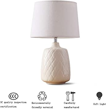 Aria Ribbed Table Lamp Silver: Amazon