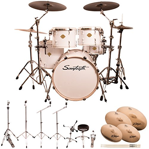 Sawtooth ST-COM-5PC-WHT-S Command Series 5-Piece Shell Pack with 22