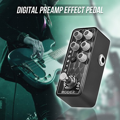 Kalaok MICRO PREAMP Series 001 Gas Station High Gain Digital Preamp Preamplifier Guitar Effect Pedal True Bypass