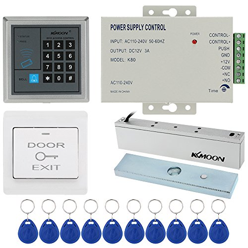 Kkmoon Door Entry Access Control System Kit Keypad Door Access Host