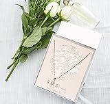 MESHA 42-Pack 6X5X1 Inch Cardboard Jewelry