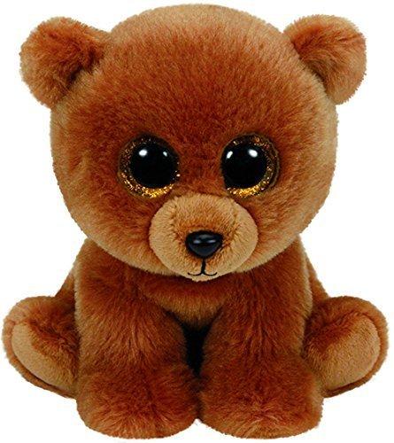 Ty Beanies BROWNIE - Brown Bear Medium by Ty Beanies