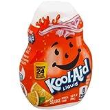 Kool Aid Orange Liquid Concentrate Drink Mix, 1.62 Fluid Ounce -- 12 per case.