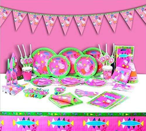 Peppa Pig - Fiesta Infantil de cumpleaños platos, vasos ...