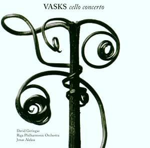 Vasks: Cello Concert