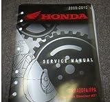2009 2010 HONDA TRX420FA/FPA RANCHER AT TRAX Service Repair Shop Manual FACTORY