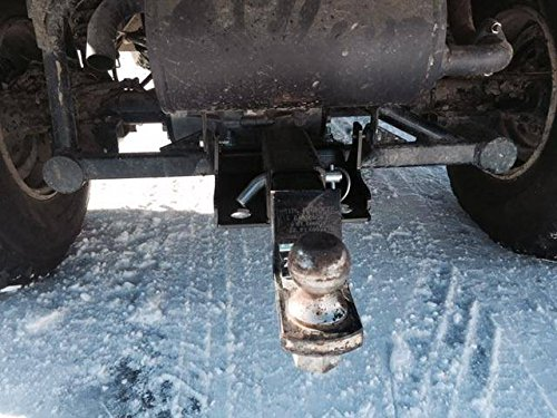 EMP P/N: 12758 Kawasaki Mule Rear Hitch (2'' Receiver) by EMP