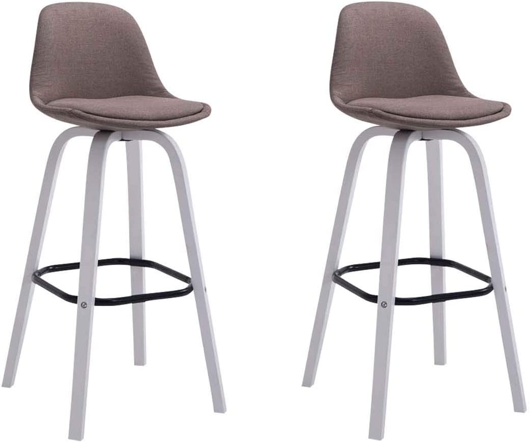 CLP Bar Stool Set of 9 Avika with Quality Padding And Lining 9 x ...