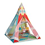 Infantino Grow-With-Me Playtime Teepee, Multicolor