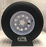 14'' BOAT TRAILER UTILITY WHITE MOD WHEELS TIRES 215/75R14 RADIAL