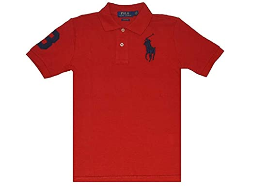 5677454f3 Amazon.com  RALPH LAUREN Cotton Mesh Polo Shirt  Clothing