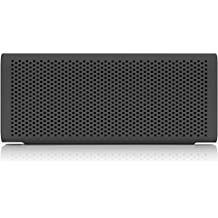 BRAVEN 705 Portable Wireless Bluetooth Speaker [12 Hr Playtime][Water Resistant] Built-In 1400 mAh Power Bank Charger - Gray (Renewed)