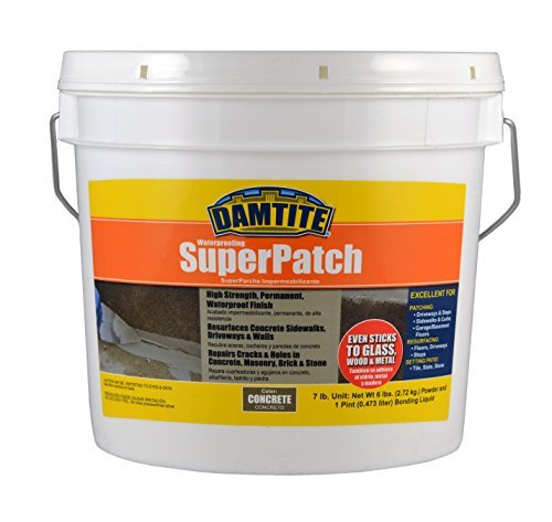 Damtite 04072 Concrete Super Patch Repair, 7 lb. ()