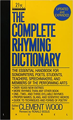 Amazon.com: The Complete Rhyming Dictionary: Including The Poet\'s ...