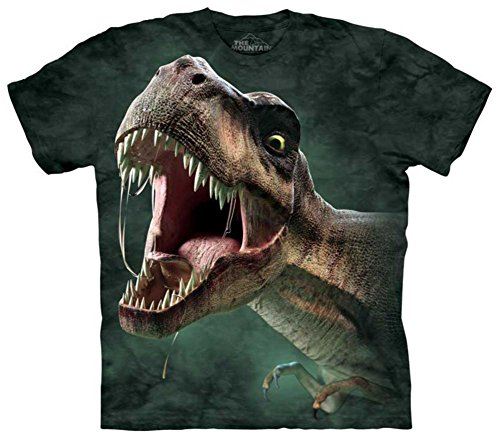"The Mountain Kinder T-Shirt ""T-Rex Roar"" Gr.XL - 164/176"