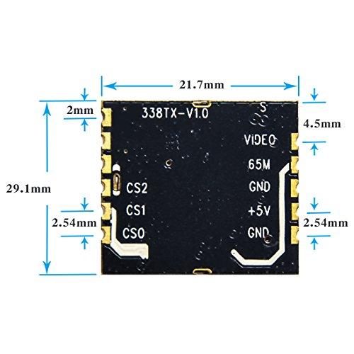 AKK 38TX 5.8GHz 40CH FPV AV Transmitter Micro VTX Module