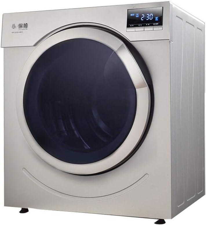 Secador de alta potencia, Secadora de ropa rotativa, esterilización inteligente de secado rápido PTC que calienta 1500w El secado del tambor de acero inoxidable puede acomodar 6 kg ,Deshumidificador