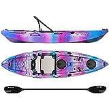 Vibe Kayaks Yellowfin 100 10 Foot Angler Sit On Top Kayak Paddle Hero Seat