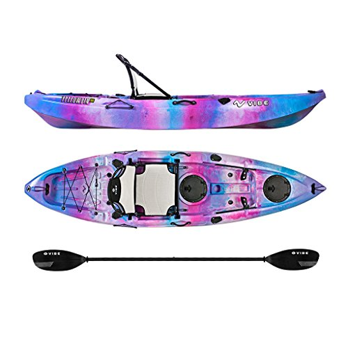 Vibe Kayaks Yellowfin 100 | 10ft Angler Sit On Top Kayak | 1 Person...