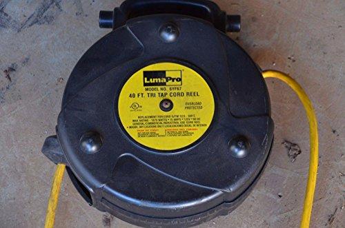 LumaPro 6YF67 Cord Reel 40