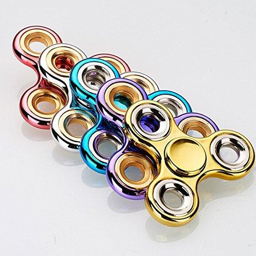 Kids Toys - Spinner Kids Toys - spinnerToykart Exclusive Chrome Edition Fidget Spinner, RandomColor