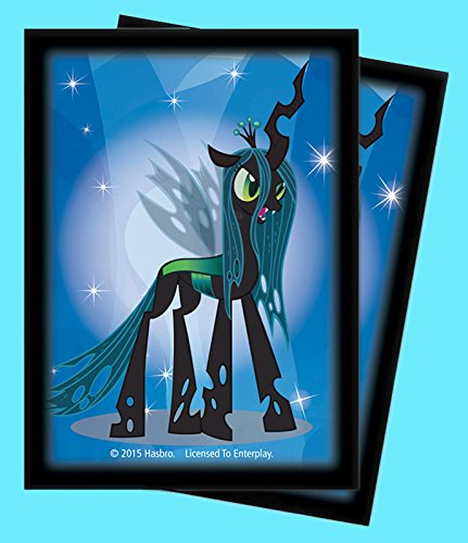 65 MY LITTLE PONY QUEEN CHRYSALIS Ultra Pro DECK PROTECTOR Standard Card  Sleeves ,#G14E6GE4R-GE 4-TEW6W253905