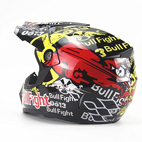 Amazon.es: DUEBEL Bull Fight Cascos Integrales BMX/MTV/Cross Country, Cascos de Motocross (XL)