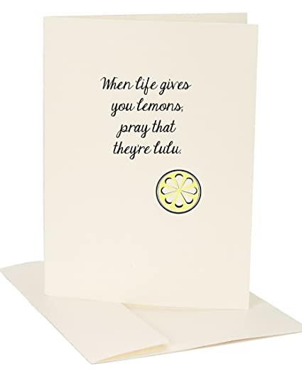 Amazon jules greeting card when life gives you lemons pray jules greeting card when life gives you lemons pray that theyre lulu m4hsunfo