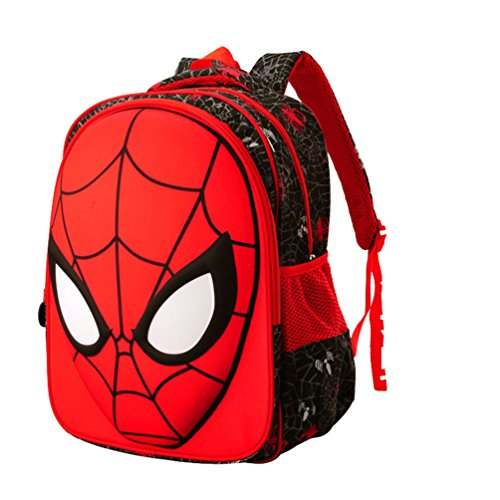 Kids Backpack Elementary School Spiderman