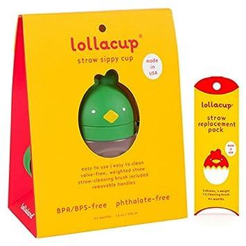 Amazon.com: Lollaland - Vaso con pajita con peso | Lollacup ...