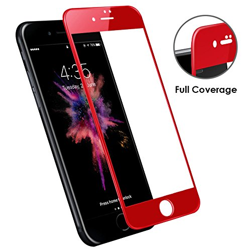 Bepack iPhone 7 Plus/ 8 Plus Glass,4D Full Coverage Tempered Glass Screen Protector Perfect Fit for Apple 5.5 inch