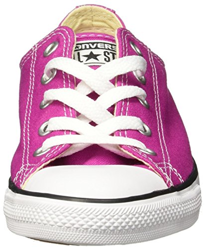 Converse Ox Dainty Star Trainers White All Plastic Pink Black Blue rUZgwqrSx