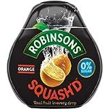 6X Robinsons Squash'd Orange No Added Sugar 66ml