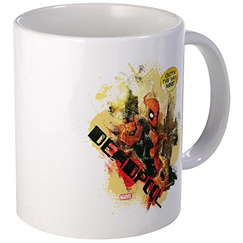 Used, CafePress Deadpool Outta My Way Nerd Mug Unique Coffee for sale  Delivered anywhere in USA