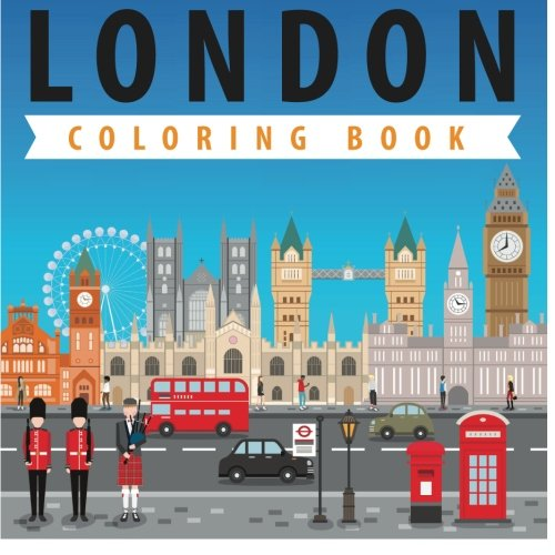 London Coloring Book Pages Kids product image