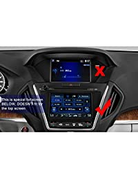 2014-2018 Acura MDX Pantalla ODMD Protector de pantalla táctil inferior de 7 pulgadas, R RUIYA HD Transparente CRISTAL TEMPLADO Guardia resistente a los arañazos Ultra HD Extreme Clarity