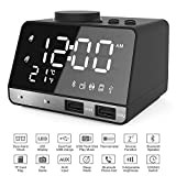 Best Bluetooth Alarm Clocks - Hetyre 4.2 Inch Alarm Clock Radio, Bluetooth Speaker Review