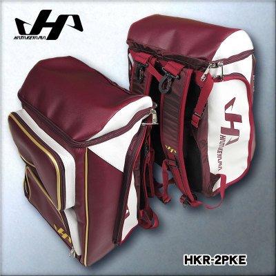 ハタケヤマ ベースボールバックパック 品番:HKR-2PK B071PCYKJR E:エンジ E:エンジ