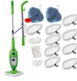 goLEDgo Steam Mop X5 Machine New - Green (Green Developed Mop Machine+14pcs fiber Mop worth 40us$)