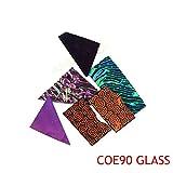 5bags/Lot Dichroic Glass Microwave Kiln Accessories COE90 Glass