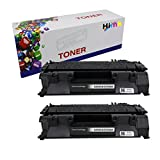 Generic 2 Pack CE505A (05A) Compatible Toner Cartridge For HP Laser Jet P2035, P2035n, P2055, P2055d, P2055dn, P2055x Printers