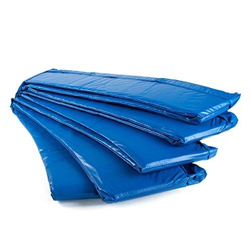 Ampel 24 Trampolin Randabdeckung | reißfest | 100% UV-beständig | Federabdeckung passend für Trampolin Ø 430 cm | blau