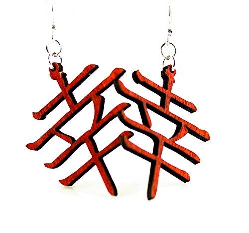 Kanji - Luck Earrings